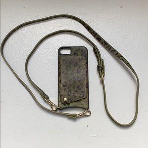 Bandolier Case - Green Ponyhair Leopard 🐆